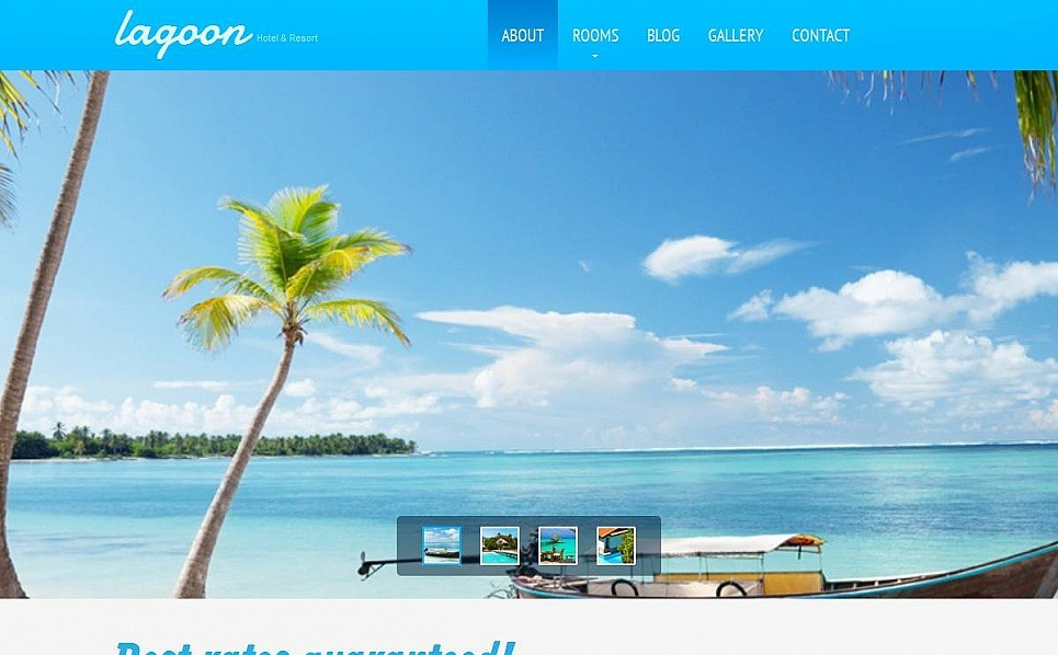 Szablon Moto CMS HTML #53525 na temat: hotele New Screenshots BIG
