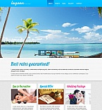 Hotels Moto CMS HTML  Template 53525