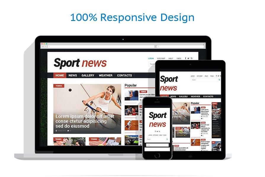 Thèmes Joomla Sport #53529