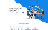 Responsivt JobsFactory - Job Portal Multipage HTML5 Hemsidemall