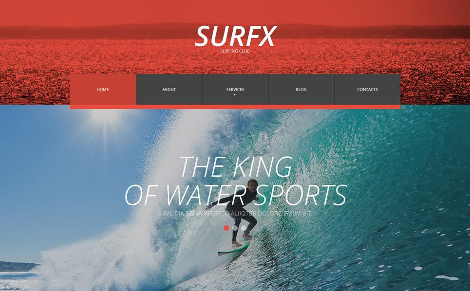 Responsywny szablon strony www #53535 na temat: surfing New Screenshots BIG