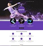 Sport Website  Template 53539