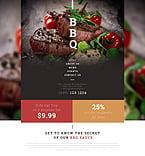 Cafe & Restaurant Website  Template 53540