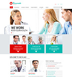 Medical Website  Template 53541