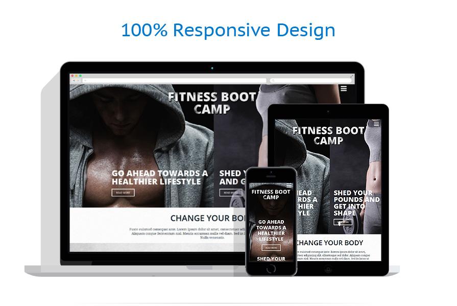 Modèles HTML5 Sport #53542