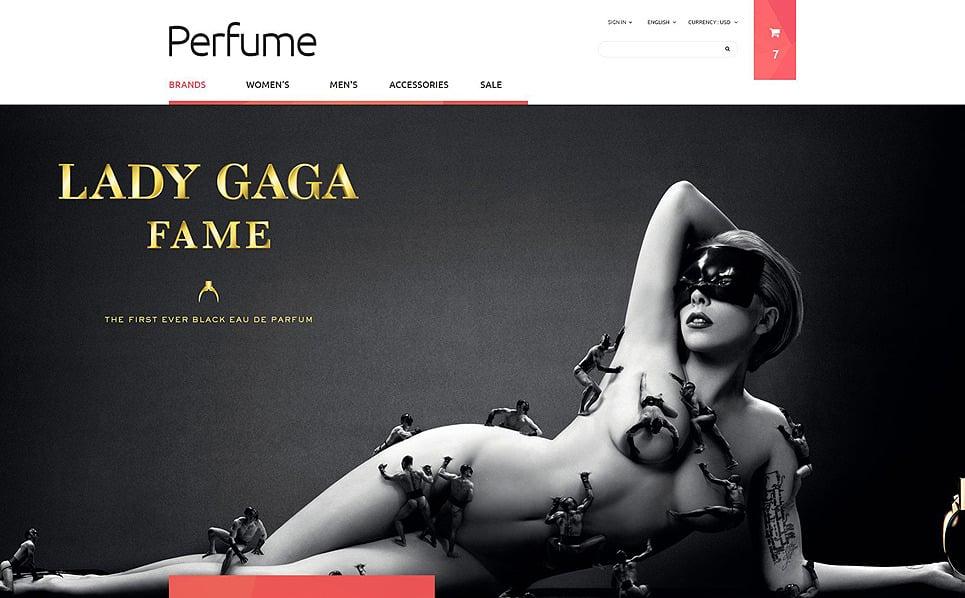 Reszponzív Szépségboltok PrestaShop sablon New Screenshots BIG