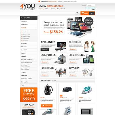 Купить  пофессиональные VirtueMart шаблоны. Купить шаблон #53547 и создать сайт.