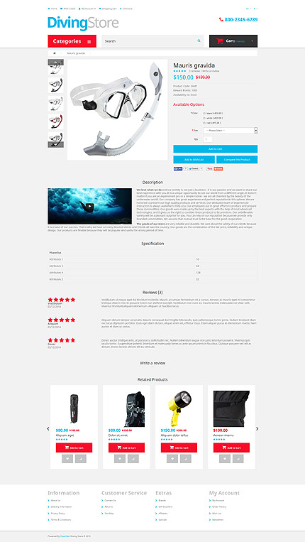 ADOBE Photoshop Template 53552 Home Page Screenshot