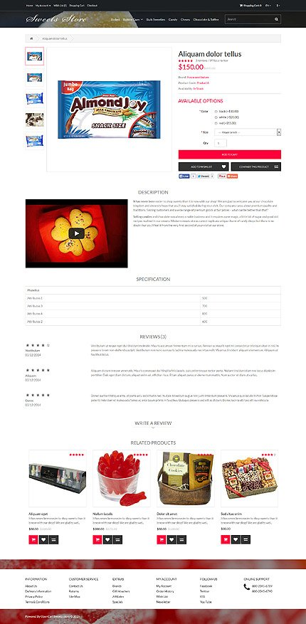 ADOBE Photoshop Template 53553 Home Page Screenshot