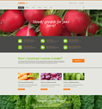 Agriculture Drupal  Template 53559