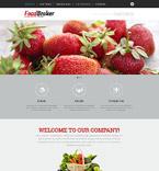 Food & Drink Website  Template 53573