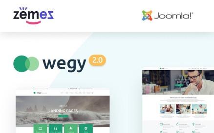 Wegy - Multipurpose Business Joomla Template