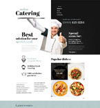 Food & Drink Website  Template 53579