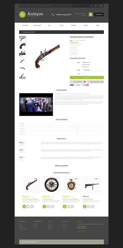ADOBE Photoshop Template 53580 Home Page Screenshot