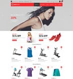 Sport osCommerce  Template 53581