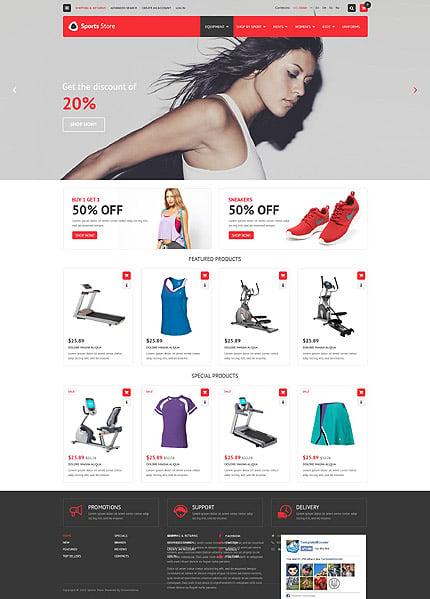 osCommerce Template 53581 Main Page Screenshot