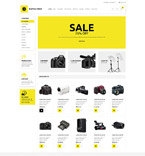 Electronics osCommerce  Template 53585