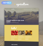 Agriculture WordPress Template 53592