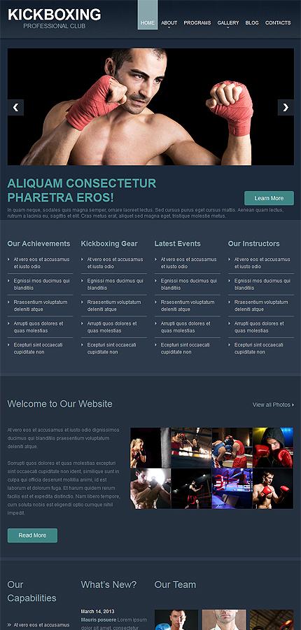 WordPress Theme/Template 53595 Main Page Screenshot