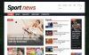 Адаптивний Joomla шаблон на тему спортивні новини New Screenshots BIG