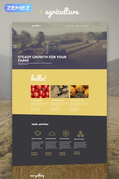 Agriculture - Crop Farming Elementor
