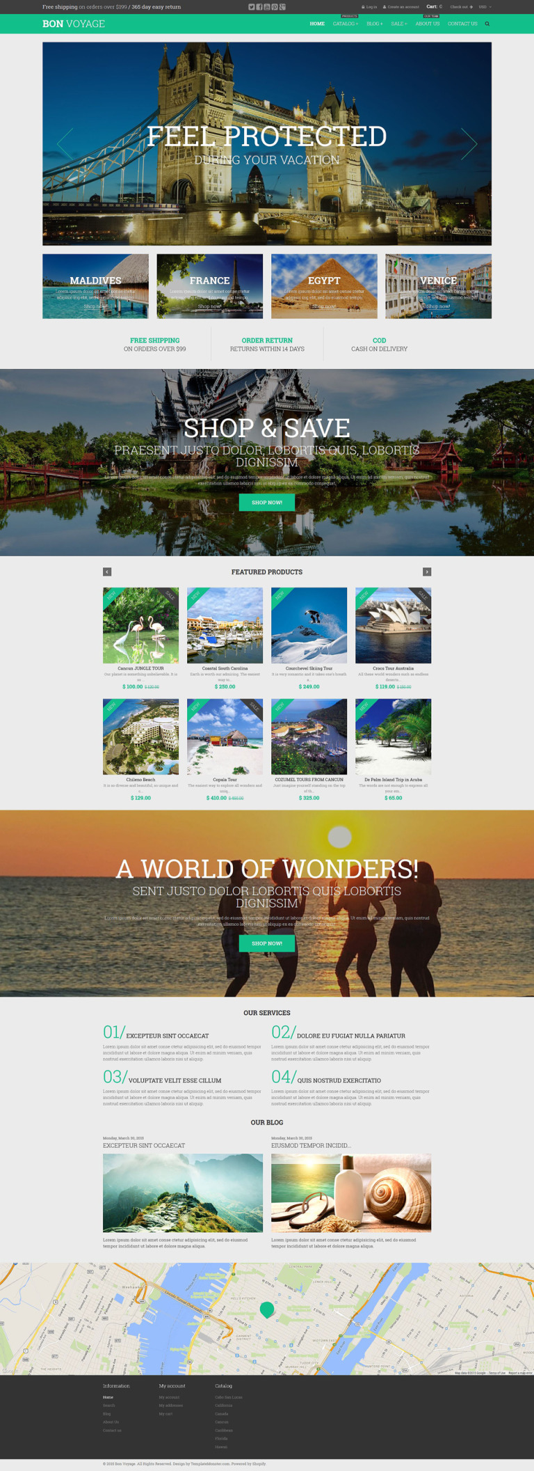 Bon Voyage Shopify Theme New Screenshots BIG