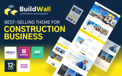 BuildWall - Construction Company Multipurpose