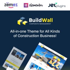766 best wordpress business themes 2018 templatemonster buildwall construction company multipurpose wpml ready wordpress template friedricerecipe Images