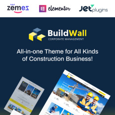 Parallax business services wordpress themes buildwall construction company multipurpose wpml ready wordpress template accmission Images