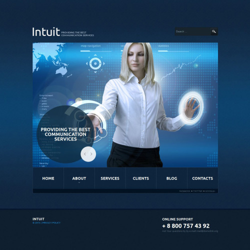 Intuit - Joomla! Template based on Bootstrap