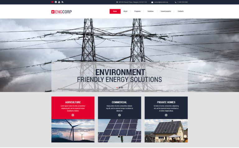Engcorp Website Template