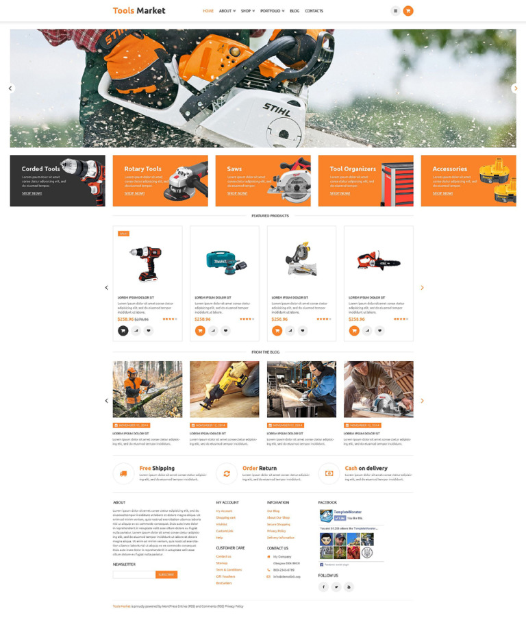 Equipment Market WooCommerce Theme New Screenshots BIG