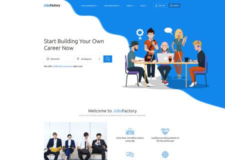 Job Portal Responsive