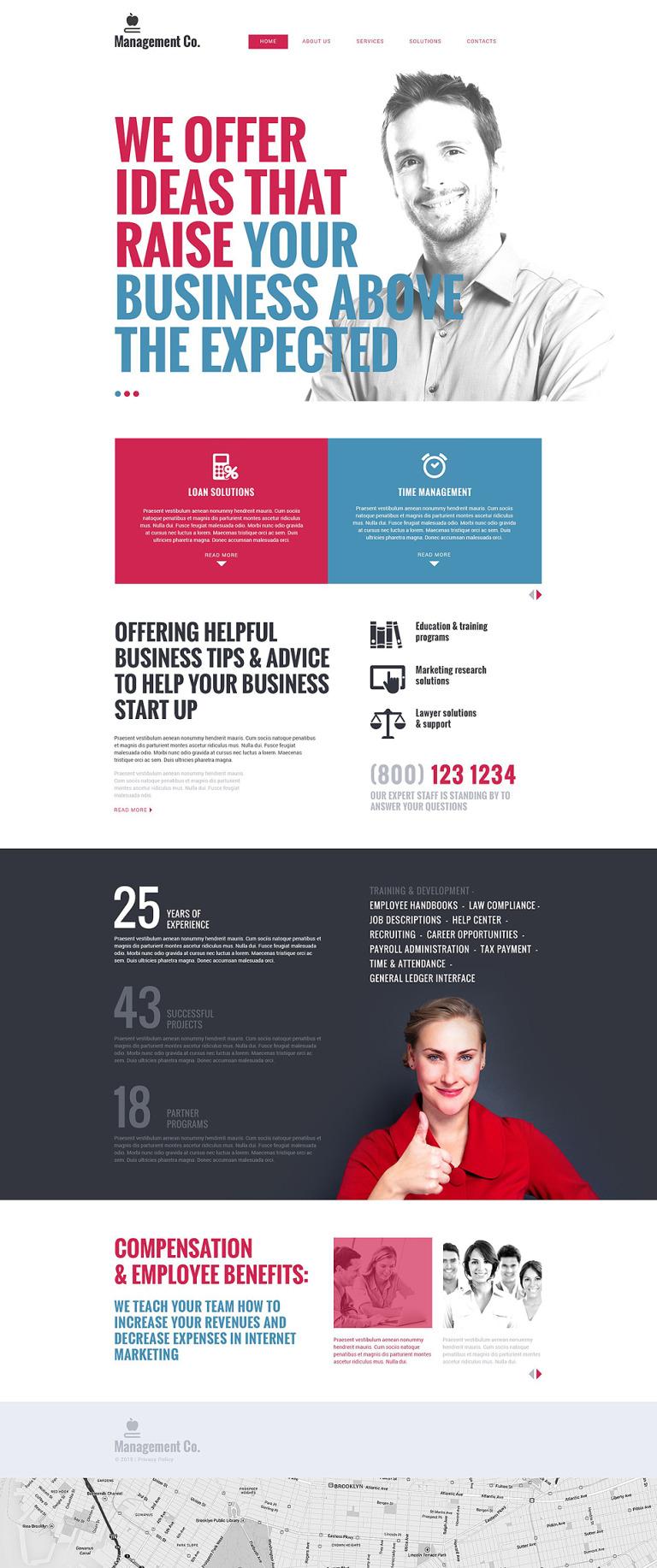 Online Business School Drupal Template New Screenshots BIG