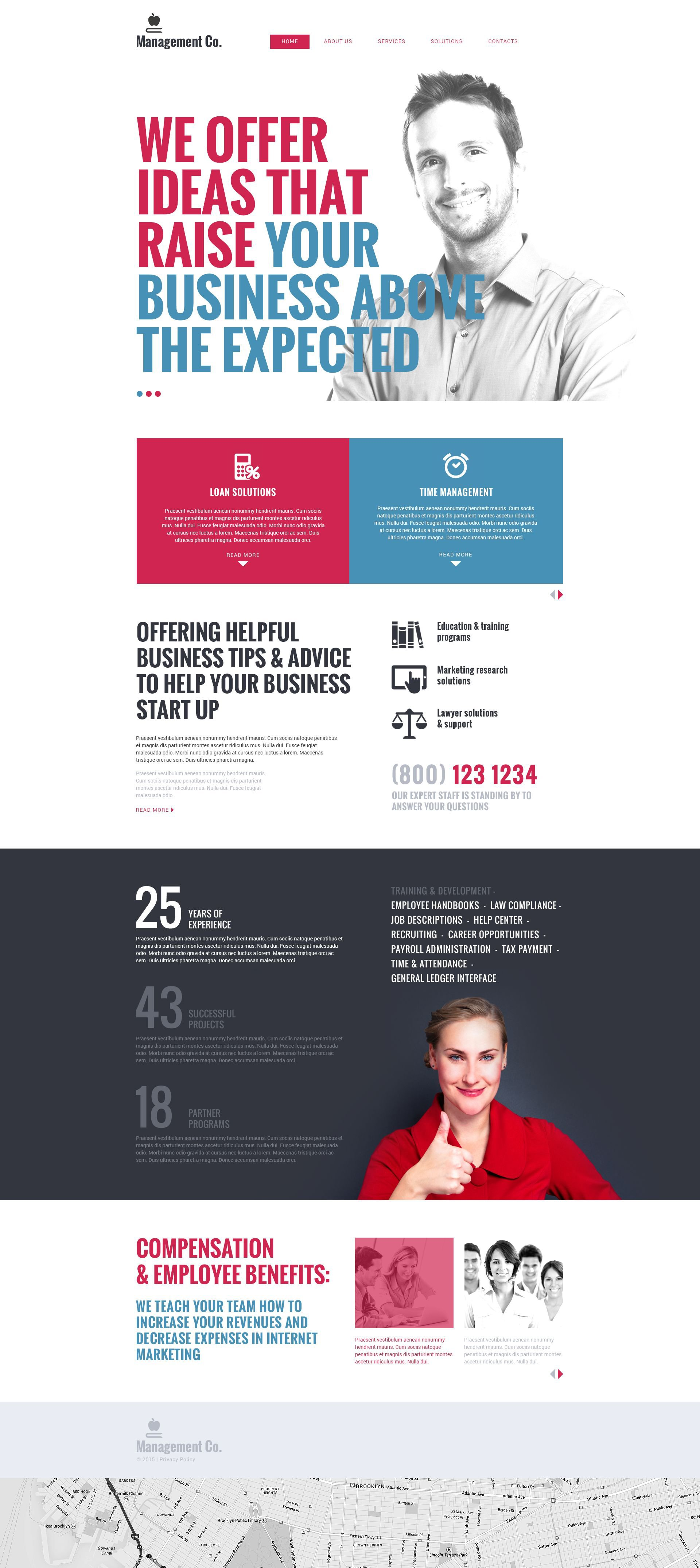 Online Business School Drupal Template