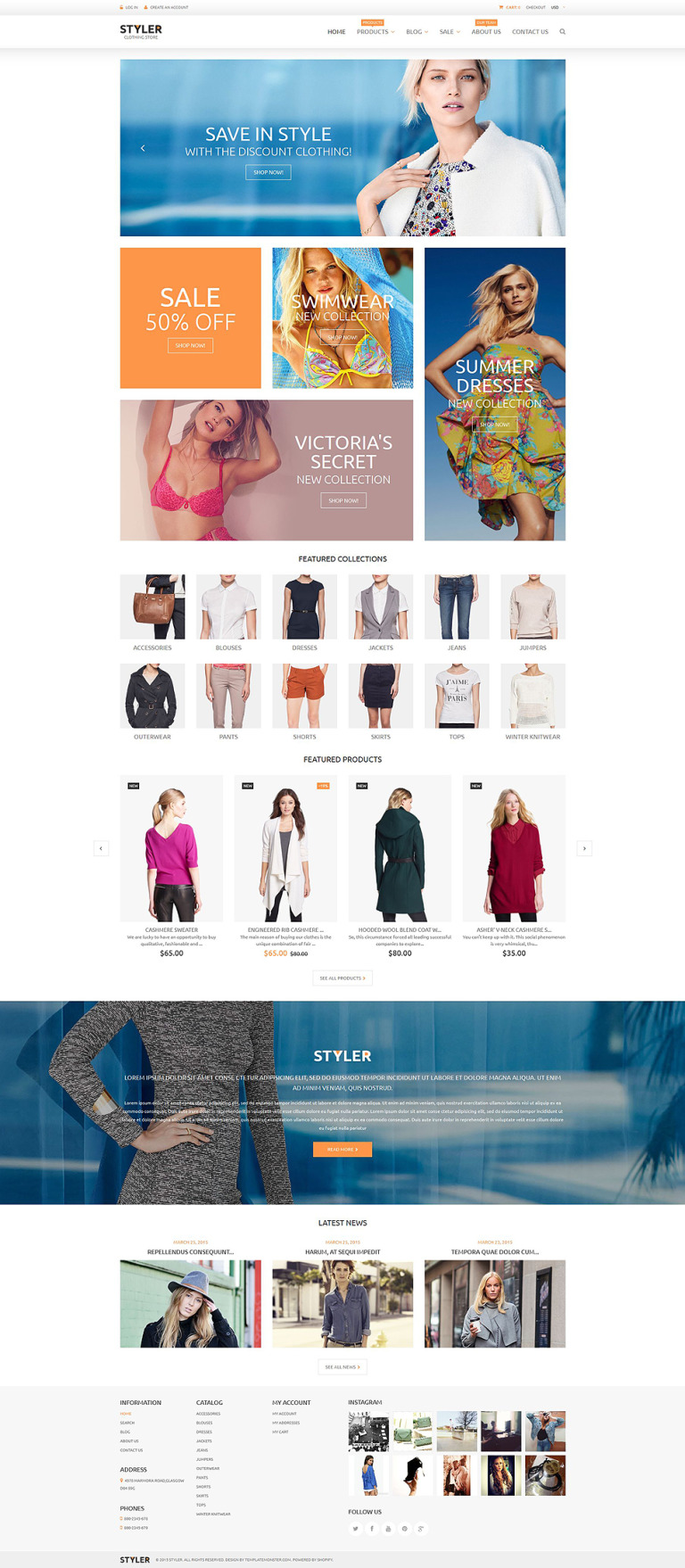 Original Clothing Shopify Theme New Screenshots BIG