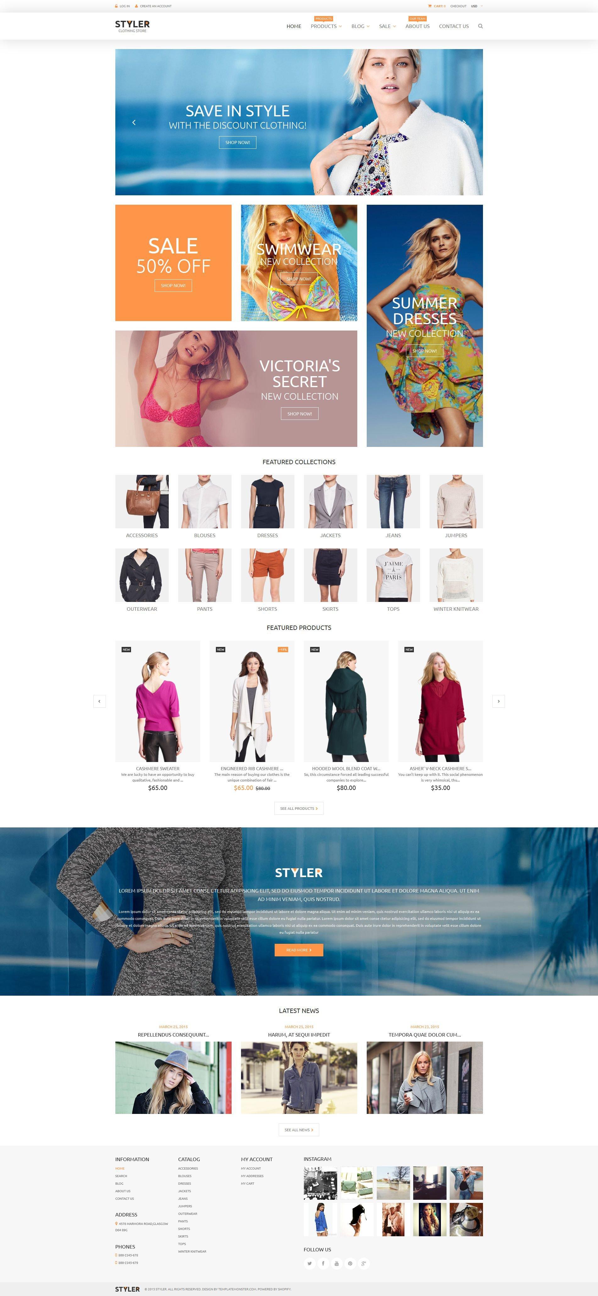 Original Clothing Shopify Theme