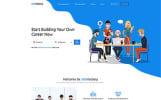 Plantilla Web para Sitio de Portal de Empleo