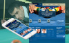 Premium Moto CMS HTML Template over Biljart  New Screenshots BIG