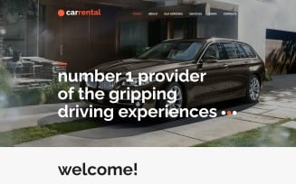 Rental Cars Joomla Template