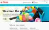 """Responzivní Šablona webových stránek """"Cleaning Supplies"""" New Screenshots BIG"""