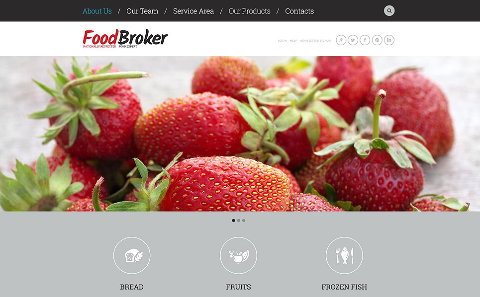 Responzivní Šablona webových stránek na téma Jídlo a nápoje New Screenshots BIG