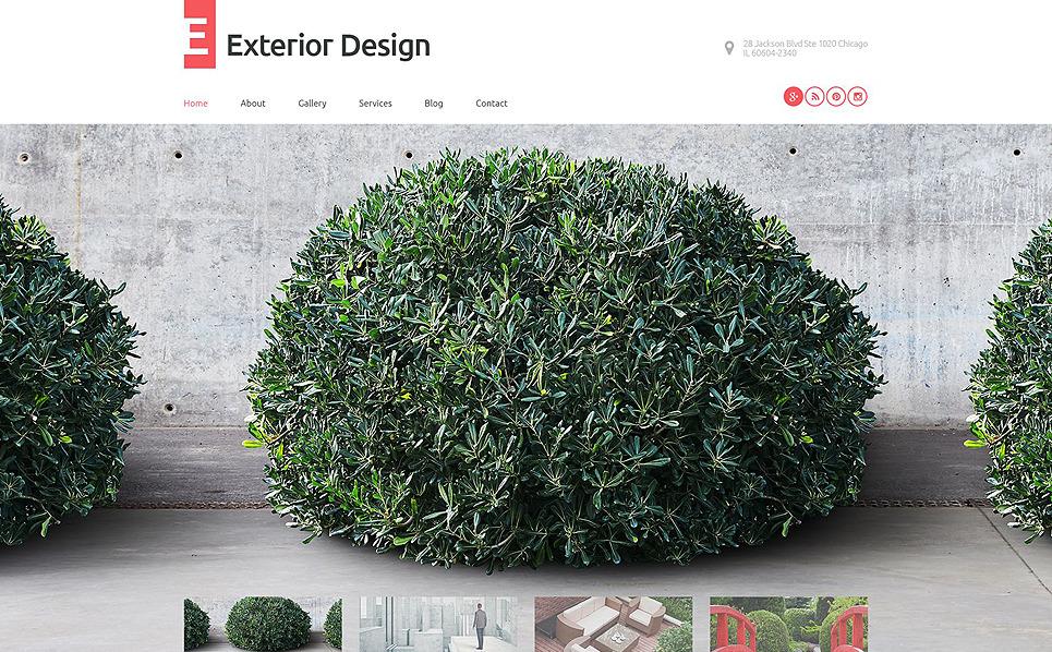 Tema WordPress Flexível para Sites de Design externo №53598 New Screenshots BIG
