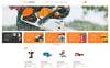 Thème WooCommerce adaptatif  pour site d'outils et d'équipement New Screenshots BIG