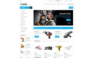 Tools Store VirtueMart Template
