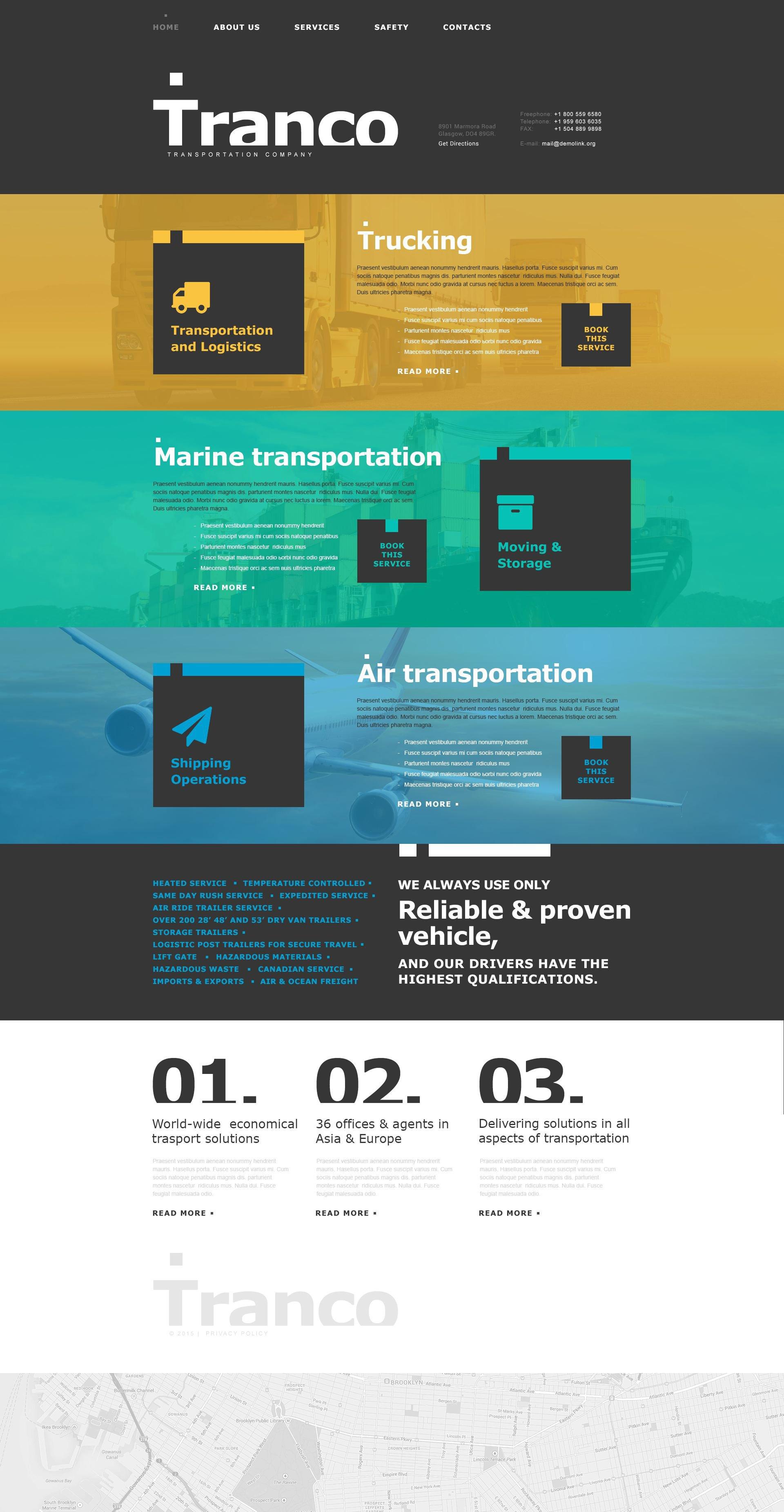 Transportation Muse Template