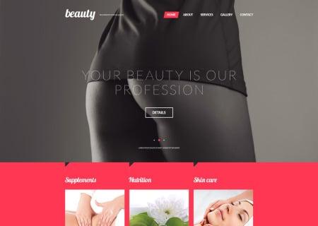 Beauty Treatment OpenCart