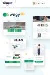 Wegy — Joomla шаблон