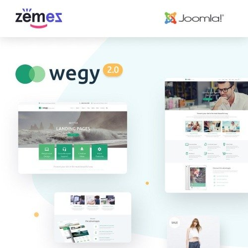 Wegy - Joomla! Template based on Bootstrap