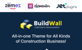 "WordPress Theme namens ""Ramirez - Architektur und Bauunternehmen"""